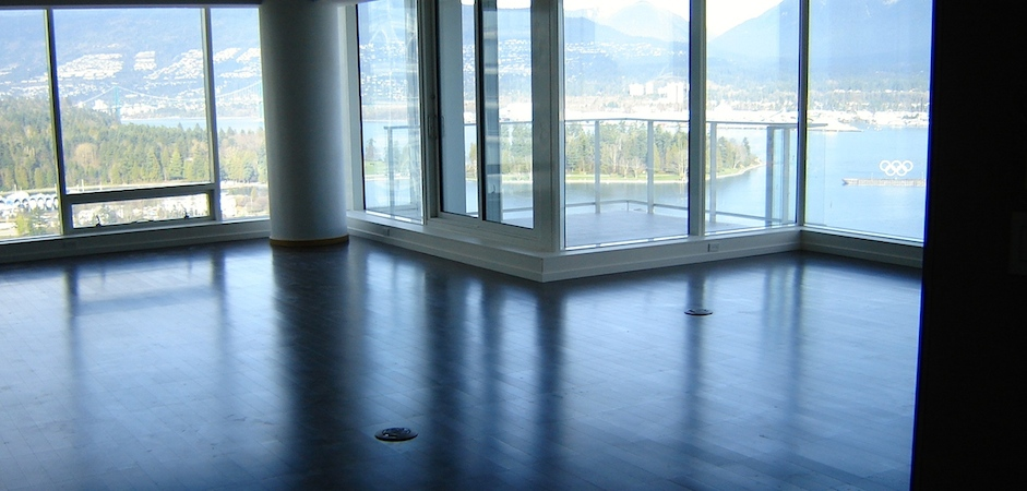 Engineered hardwood flooring Downtown Vancouver ...