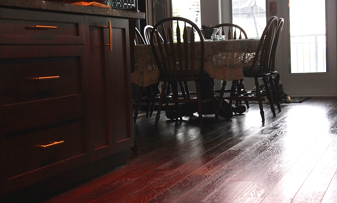 hardwood floor isntallation in dininin g room vancouver ...