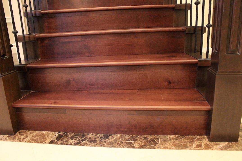 hardwood stair vancouver