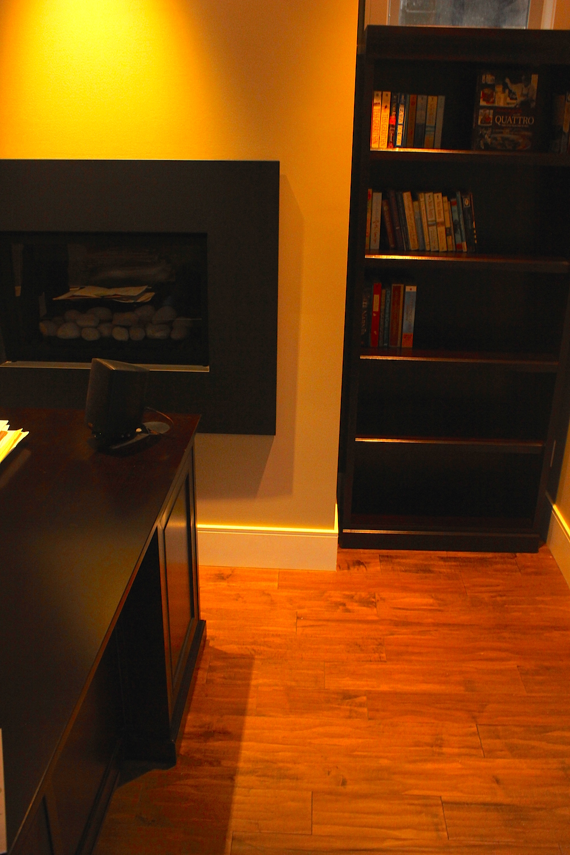 living room hardwood flooring installation