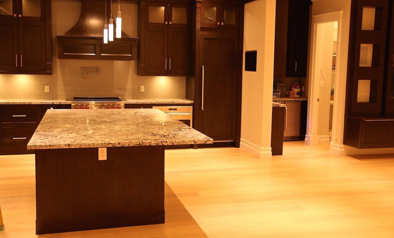 hardwood flooring kitchen installation vancouver