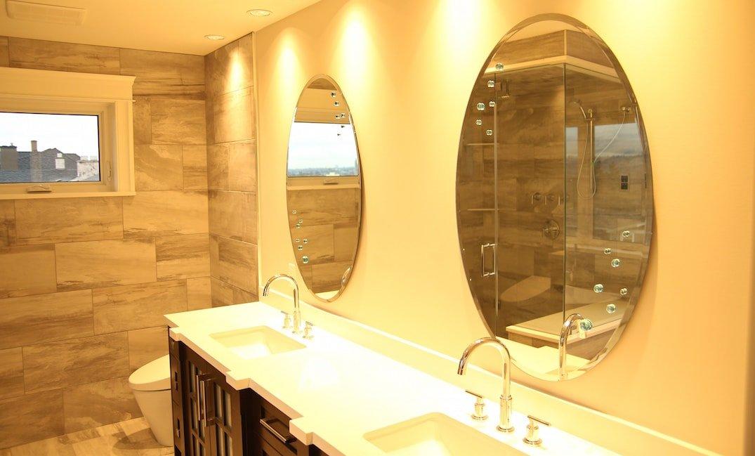 bathroom tile isntallation