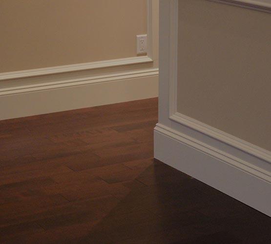 Hardwood Flooring Refinishing Vancouver: Baseboard-mouldings-installation-vancouver