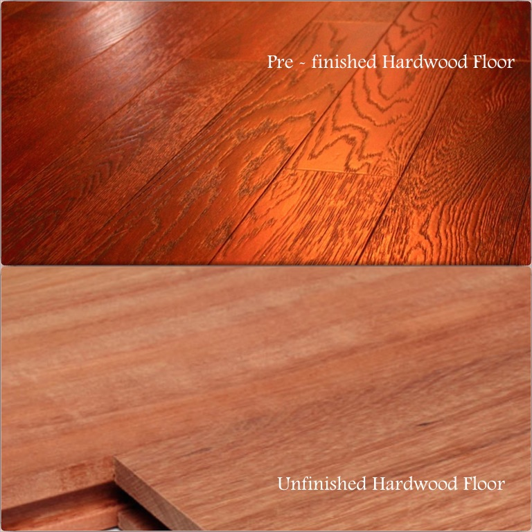 Hardwood floor finish options