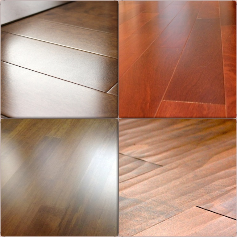 Hardwood floors colors