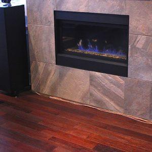 engineered hardwood flooring installation in familyroom vancouver