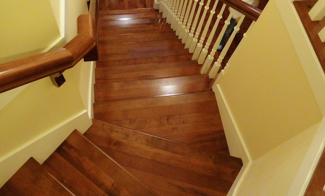 Flooring company hardwood stairs isntalaltion carpet for Hardwood flooring company