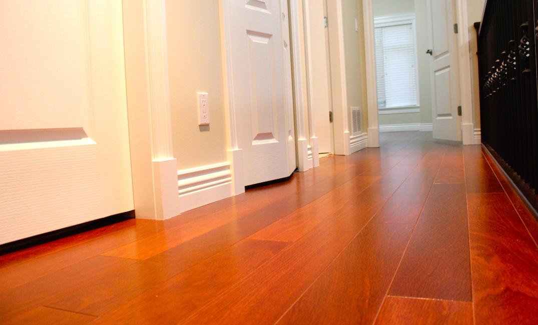 Hallway hardwood floor installation vancouver carpet for Hardwood floors vancouver