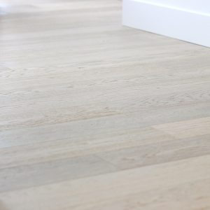 hardwood flooring in bedroom