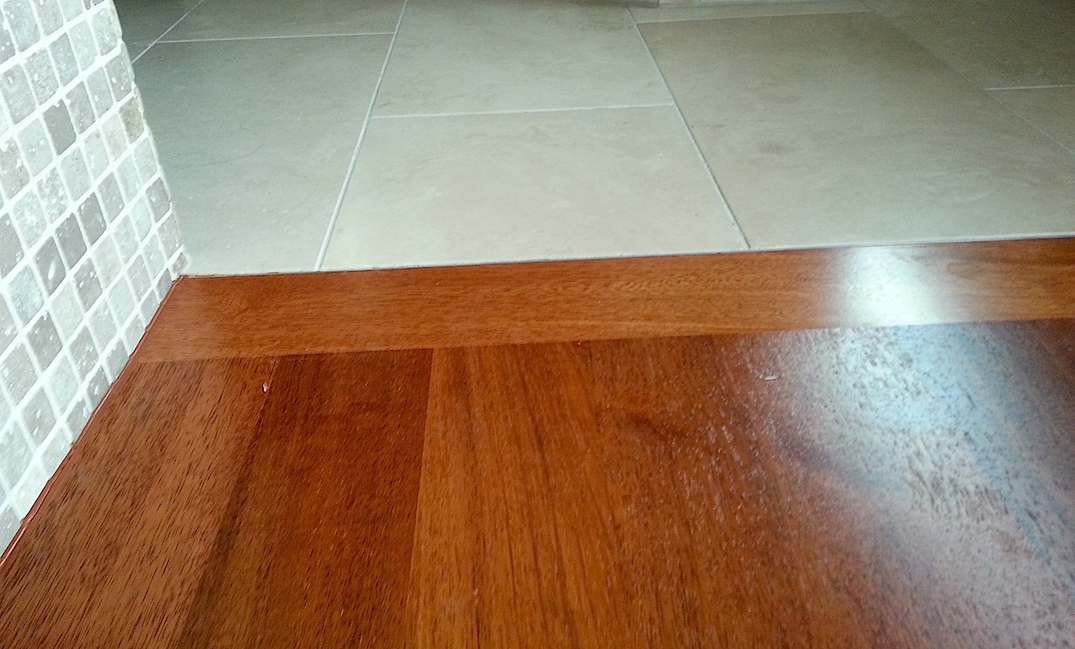 Hardwood Flooring Transition To Tile Carpet Laminate