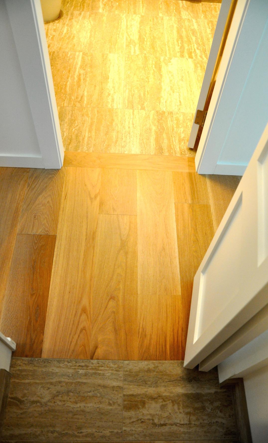 Hardwood Transition Tile Floors Carpet Laminate