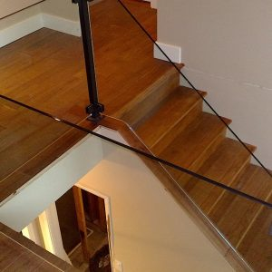 solid hardwood stair instalaltion vancouver