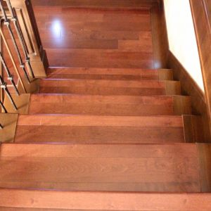 wood stairs vancouver