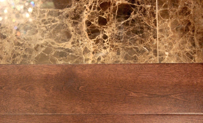 hardwood flooring transition to tile