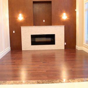 hardwood installation fireplace vancouver