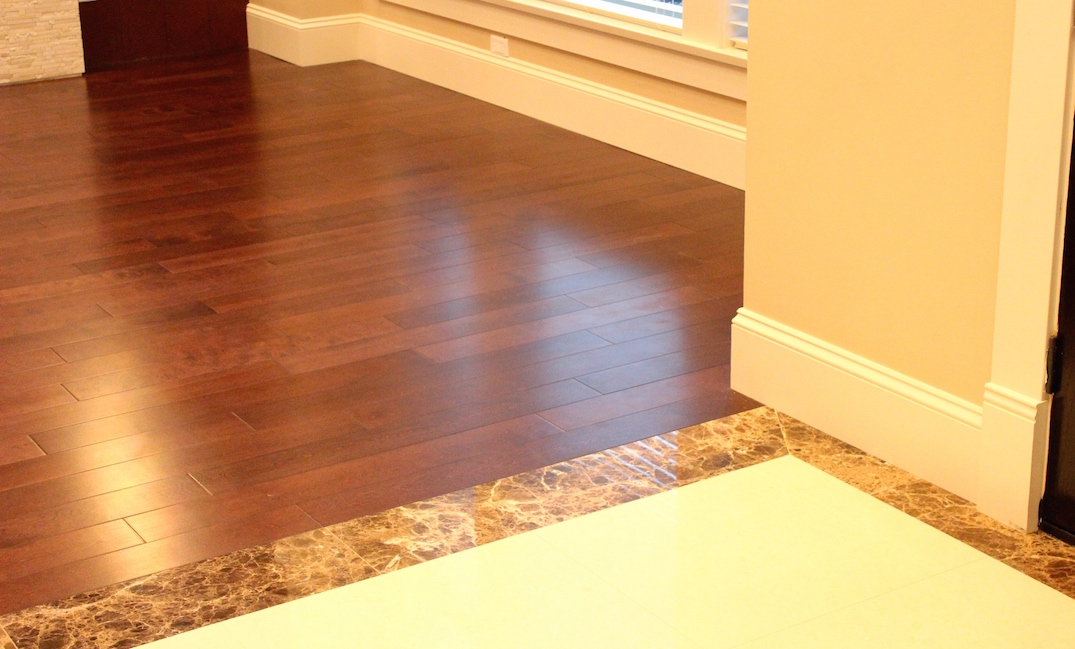 Vancouver hardwood transition installation carpet for Hardwood floors vancouver