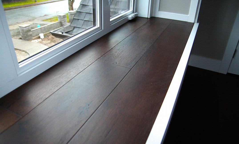 window sill engineered hardwood flooring