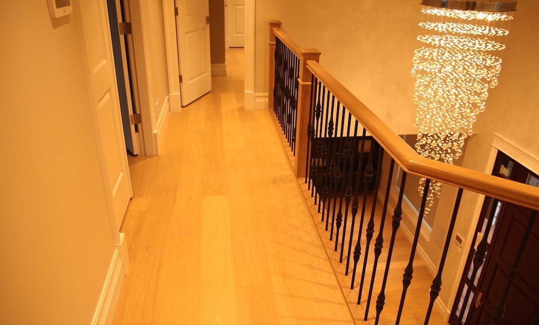 engineered hardwood flooring upper floor