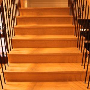 hardwood flooring staircase custom