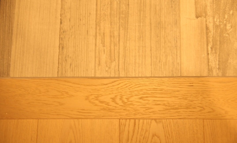 hardwood transition to tile